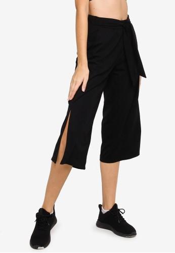 Anta black Urban Moving Knit Crop Pants 64A24AA796B1F8GS_1
