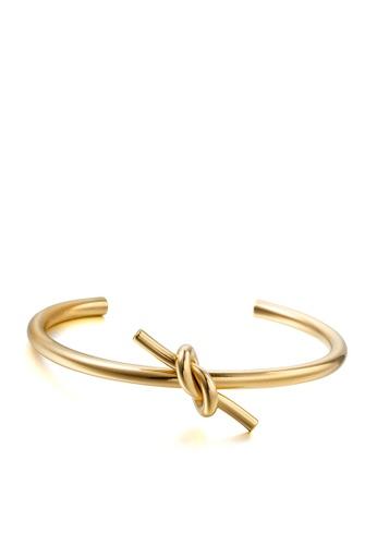 HAPPY FRIDAYS Love Knot Titanium Steel Bracelet DWS0383 DCF9BAC777B143GS_1