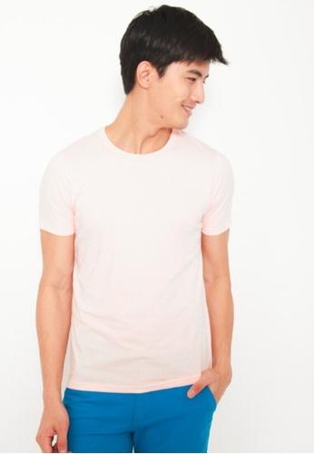 DENIZEN white Denizen Men Short Sleeve Basic Tee Pearl Blush DZ-30086-0921 898DFAAC246F75GS_1