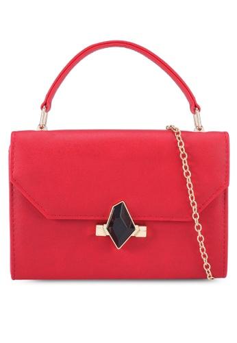Red's Revenge red Chic Square Sling Bag B3819AC972EFB5GS_1