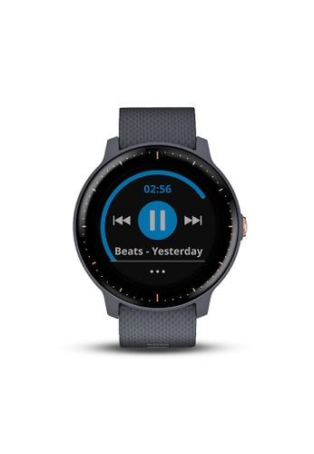 Garmin blue vívoactive® 3 Music Granite Blue 64326AC0DF1FD5GS_1