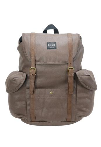 G.ride brown Dimitri Backpack 96C10AC8DBAF32GS_1
