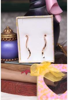 Star Spiral Earrings
