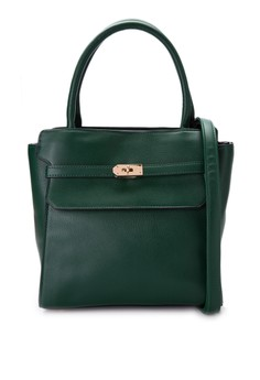 Hepburn Top Handle Structured Bag