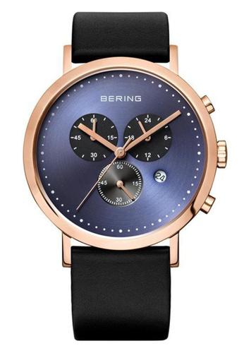 Bering blue Classic 10540-567 Blue 40 mm Men's Watch E839CAC1635A63GS_1