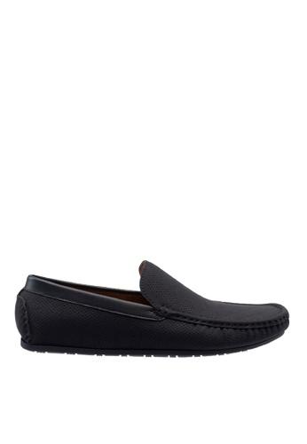 Antton & Co black Antton & Co Ermal-Plain Loafer In Black 59B3FSH73F3C92GS_1