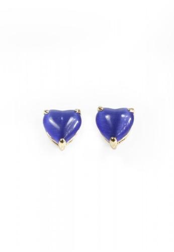 HEY SWEETY multi Sweety Heart Earrings HE303AC0IZSDPH_1
