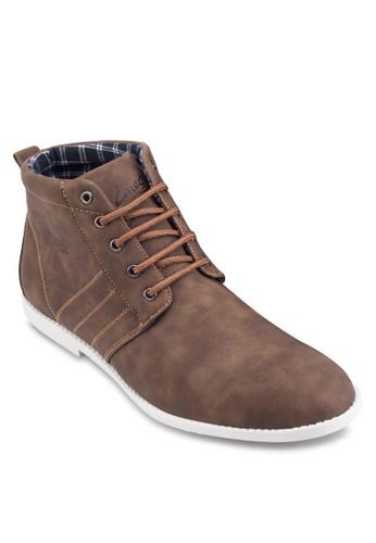 仿皮高筒esprit門市運動鞋, 鞋, 休閒鞋