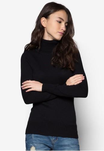 羊esprit 品牌毛混紡高領織衫, 服飾, 毛衣& 針織外套