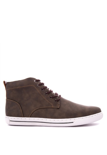 Italianos brown Dewey Sneakers IT153SH0K85FPH_1
