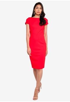 9a909caf6af CLOSET Bodycon Ponte Pencil Dress S$ 101.90. Sizes 8 10 12 14 16