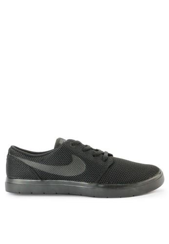 Nike black Men's Nike SB Portmore II Ultralight Skateboarding Shoes F2194SH57D2F14GS_1