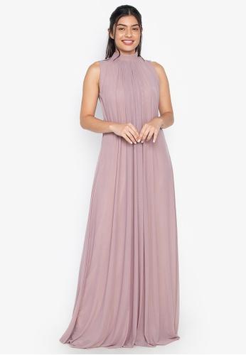 Tantease purple Micaela Evening Dress C3010AAEF2BD48GS_1
