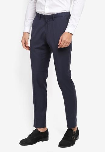Electro Denim Lab blue Slim Formal Pants 307A1AA611805CGS_1