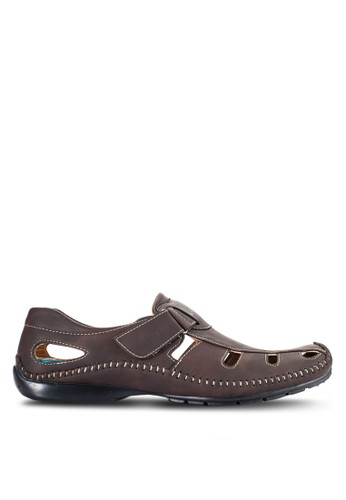 Louis Cuppers brown Casual Slip On Shoes LO977SH00VOTMY_1