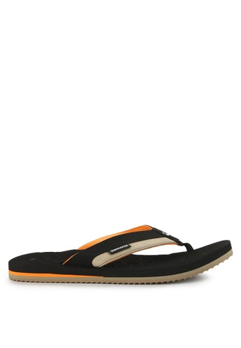 3SECOND black Twotone Slipers 1305 68E8BSH45984FDGS_1