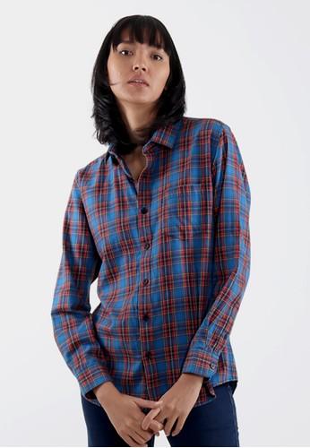 Edwin Jeans multi Edwin Jeans Flannels Shirt Raefal - Ladies 9B5B9AA73E2F34GS_1
