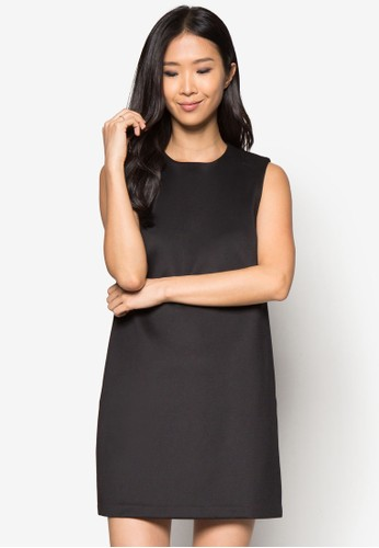 素色直筒連身裙, 服zalora是哪裡的牌子飾, 正式洋裝
