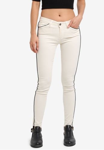 Paige white Pipeline Ultra Skinny Jeans SO640AA0GOOJSG_1
