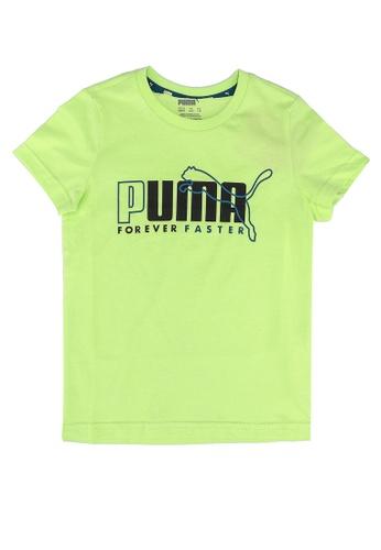 PUMA green Alpha Graphic Tee D558CKA012C9D7GS_1