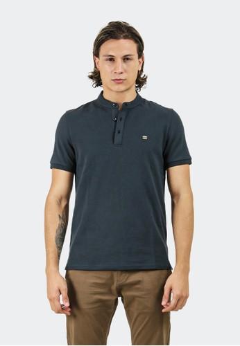 Celciusmen navy Polo shirt B01421C with emblem brand 5E3B1AA6DBB3E5GS_1