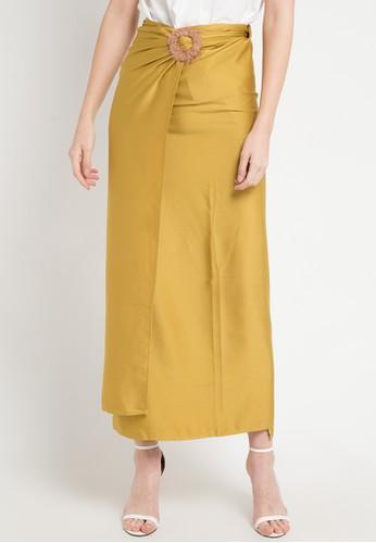 LUIRE by Raden Sirait yellow and multi Skirt Cavali F5CC3AA8647861GS_1