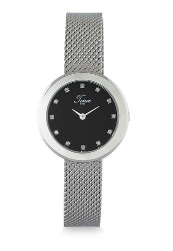 Teiwe silver Moment Watch Teiwe  Jam Tangan wanita - stainless steel 1587FAC018888CGS_1