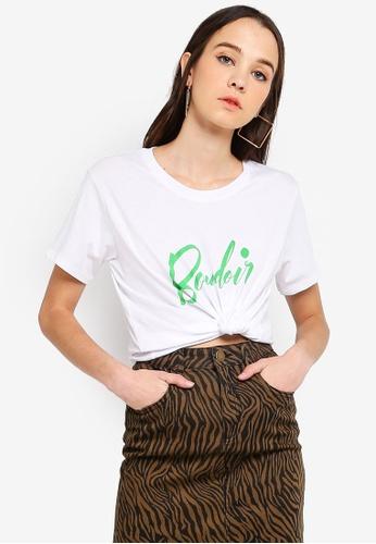 Cotton On white Tbar Fox Graphic T-Shirt 0A24DAAF81FC22GS_1