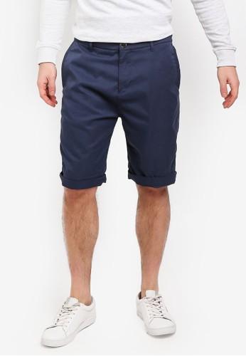ESPRIT navy Woven Regular Shorts 6378DAA5C83DE1GS_1