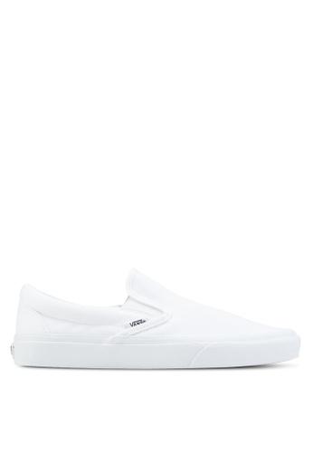 VANS white Core Classic Slip-On VA142SH56EHRMY_1