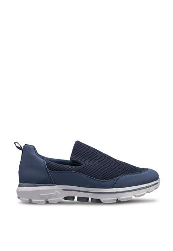 UniqTee blue Lightweight Slip-On Sport Sneakers DE199SH8BD77ABGS_1