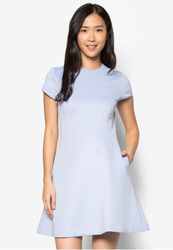 Collection 修身傘擺連身裙, 服zalora taiwan 時尚購物網飾, 正式洋裝