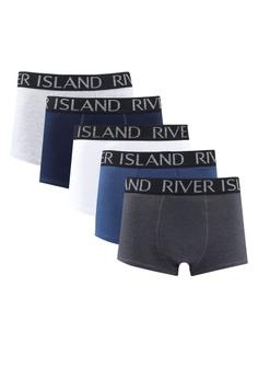 503f81f863aa River Island blue Waistband Trunk Multipack 4038DUSC10DDE7GS 1