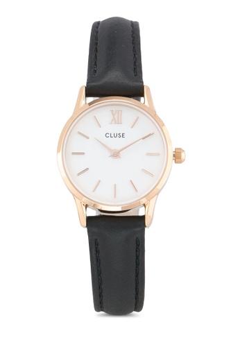 CLUSE gold La Vedette Rose Gold White/Black CL50008 CL977AC0RDC4MY_1
