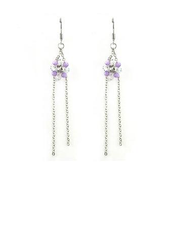Glamorousky purple Trendy Earrings E2D6BAC70FFF11GS_1