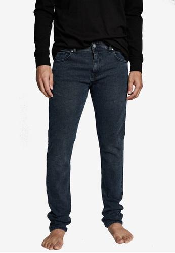 Cotton On navy Slim Fit Jeans 02D88AABC712ECGS_1