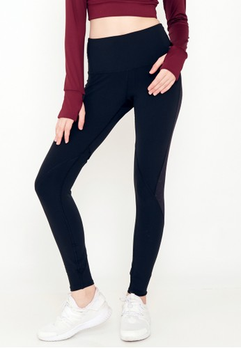 Corenation Active black Caroline Legging REFLECTIVE - Black 5B491AAA121276GS_1