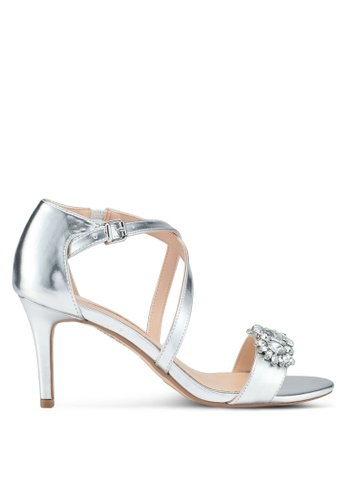 Dorothy Perkins silver Silver Bliss Diamante Sandals D3157SHF051745GS_1