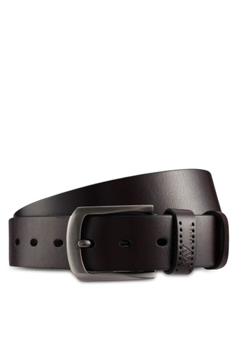 RAV Design brown 40MM Leather Belt 7194AACE3C87A1GS_1