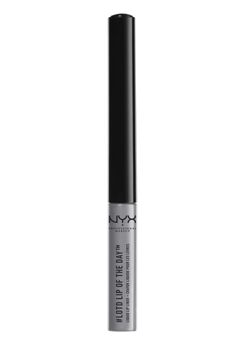NYX Professional MakeUp grey Lip Of The Day Liquid Lip Liner - Magnetic F49F3BEE5A1C7FGS_1