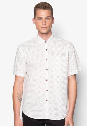 十字符號短袖襯衫, 服飾,esprit hk outlet 服飾