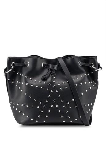 Pieces black Kamille Tighten Bag C87D6AC3F77FC6GS_1