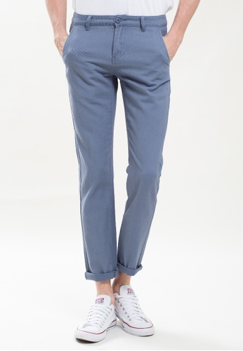Drum TAPERED CHINO PANTS-GREY DR425AA0SZEVMY_1
