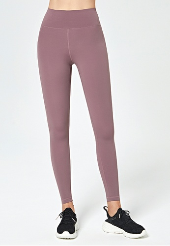 HAPPY FRIDAYS Nude High Rise Hip Running Tights DK-JSK02 6E0FCAAF3CAF4CGS_1