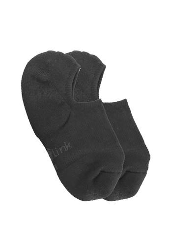 Footlink black No Show Sock - Black B5E6DAA9A394EFGS_1