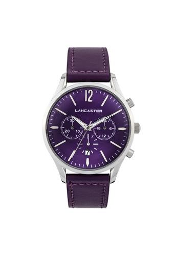Lancaster Paris purple Heritage Chronograph LA452AC0GA1LSG_1
