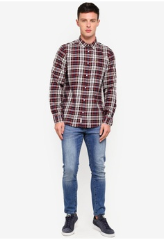b95f31e456bd24 76% OFF Jack Wills Salcombe Flannel Texture Shirt S  121.90 NOW S  28.90  Sizes XL