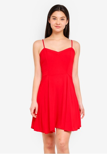 Cotton On red Woven Krissy Dress E43A3AA4D15B71GS_1