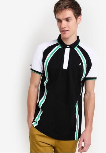 撞色拼接滾邊POzalora時尚購物網評價LO 衫, 服飾, Polo衫