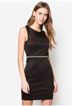 Premium Embellished Pencil Dress